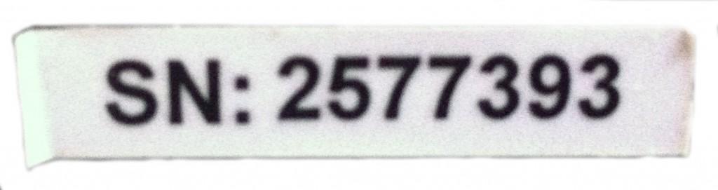 Серийный номер Он находится на задней нижней части кресла, чтобы убедиться в легальном происхождении сообщите нам модель товара и его серийный номер любым из перечисленных способов: