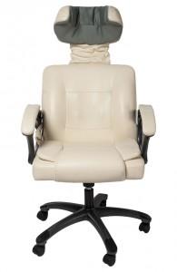 офисное массажное кресло power chair rc-b2b-1 светло бежевое