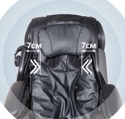 регулировка ширины массажных подушек в области плеч