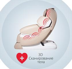 интеллектуальное сканирование тела массажным кресло iRest SL-a85-1